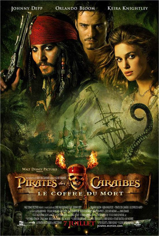 Смотреть фильм онлайн Пираты Карибского моря Сундук мертвеца / Pirates of the Caribbean: Dead Man's Chest (2006)