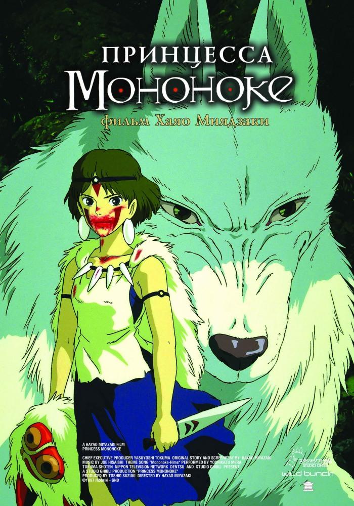 Принцесса Мононоке смотреть онлайн в хорошем качестве