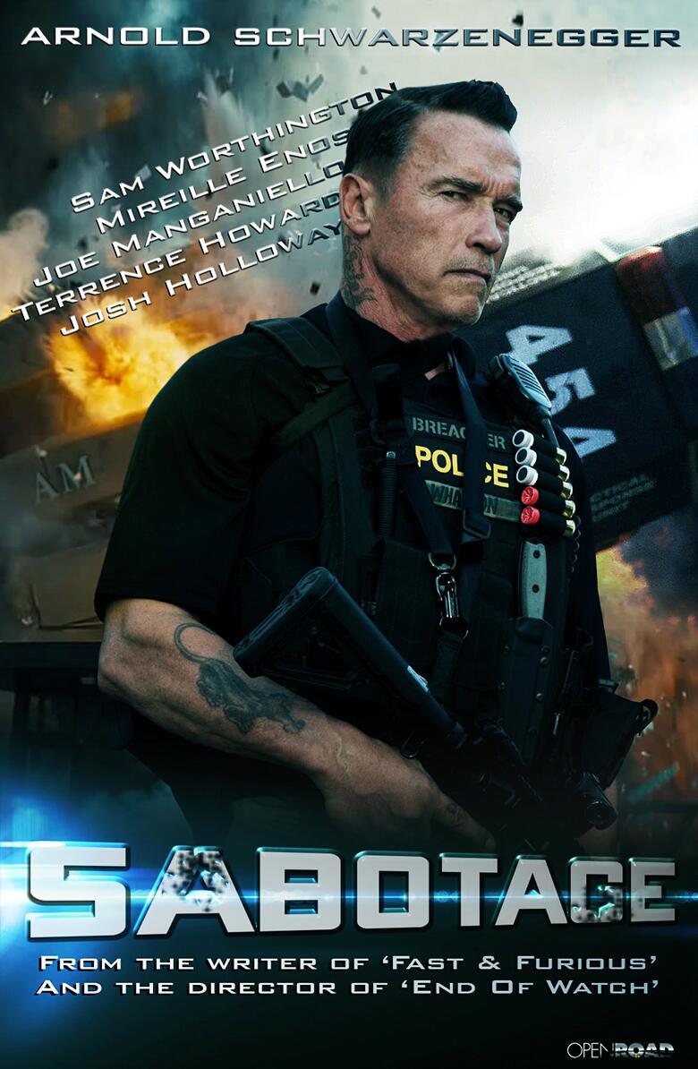 Саботаж 2014 смотреть фильм онлайн бесплатно в хорошем качестве HD 720