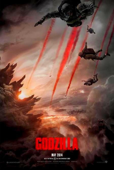 Годзилла 2014 смотреть онлайн бесплатно в хорошем качестве HD 720