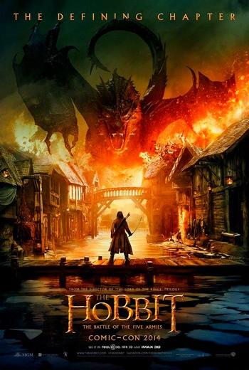 Хоббит 3: Битва пяти воинств смотреть онлайн бесплатно в качестве HD 720